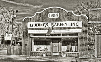 South Louisiana Photograph - Lejeune's Bakery by Scott Pellegrin