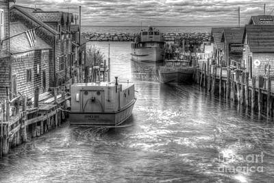 Leland River In Fishtown Art Print by Twenty Two North Photography