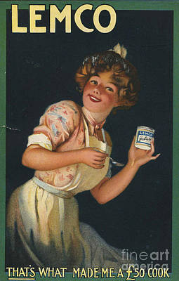 Nineteen-tens Drawing - Lemco 1910s Uk by The Advertising Archives
