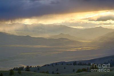 Lemhi Valley Light Art Print by Idaho Scenic Images Linda Lantzy