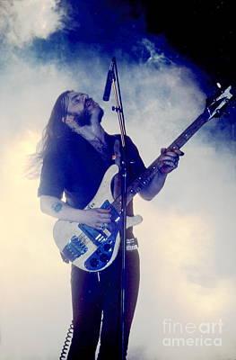 Lemmy Photograph - Lemmy by David Plastik