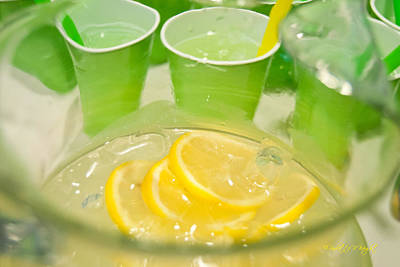 Photograph - Lemon And Lime Celebration by Paulette B Wright