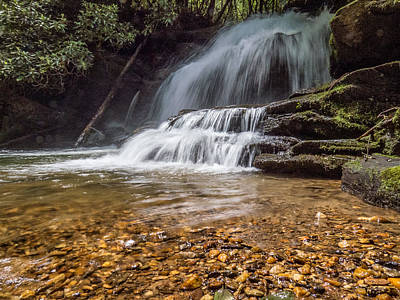 Photograph - Lemon Falls North Carolina II by Patti Deters
