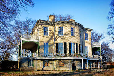 Fairmount Park Photograph - Lemon Hill Mansion by Olivier Le Queinec