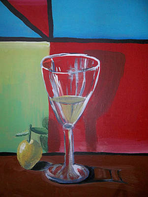 Painting - Lemon Juice by Ai P Nilson