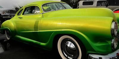 Photograph - Lemon Lime Chevy by Fraida Gutovich