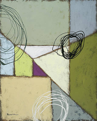 Lemon Painting - Lemon Lime Play I by Michael Marcon