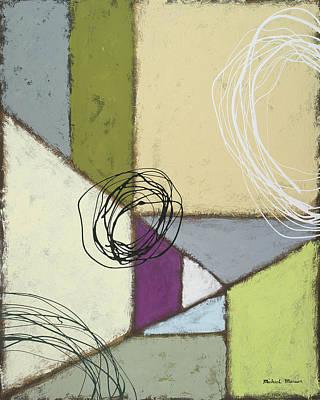 Lemon Painting - Lemon Lime Play II by Michael Marcon