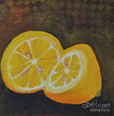 Mixed Media - Lemon Love by Claire Bull