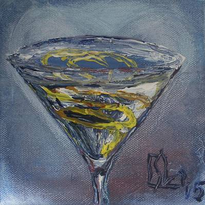 Lemon Drops Painting - Lemon Love by Lee Stockwell