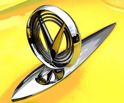 Merengue Photograph - Lemon Merengue Buick by Mike Flynn