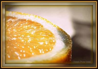 Photograph - Lemon by Michaela Preston