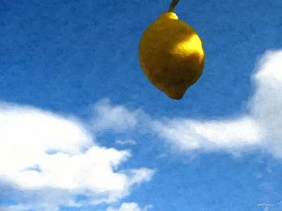 Lemon On The Sky Original by Janos Szijarto
