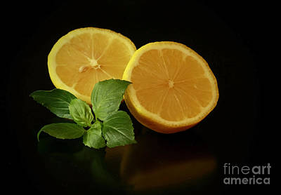 Lemon Splendor Art Print by Inspired Nature Photography Fine Art Photography