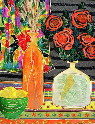 Lemon Squash And Pumpkin Art Print