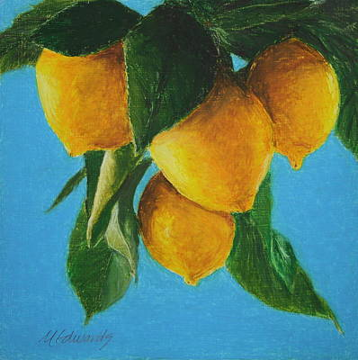Painting - Lemon Time by Marna Edwards Flavell