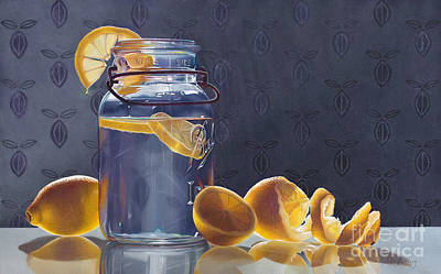 Lemonade Art Print by Arlene Steinberg