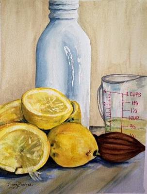 Painting - Lemonade by Diane Ziemski