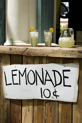 Lemonade Stand Art Print