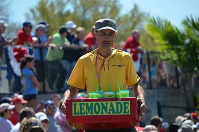 Brighthouse Field Photograph - Lemonade Vendor by Steven Blivess