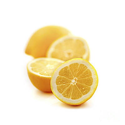 Still Life Royalty-Free and Rights-Managed Images - Lemons by Elena Elisseeva
