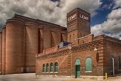 Lemp Brewery Photograph - Lemp And Western Cable Railroad Color Dsc06463 by Greg Kluempers