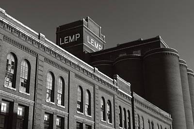Lemp Brewery Photograph - Lemp Complex by Scott Rackers