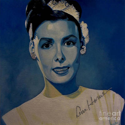 Painting - Lena Horne by Chelle Brantley