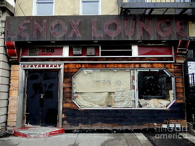 Photograph - Lenox Lounge by Ed Weidman