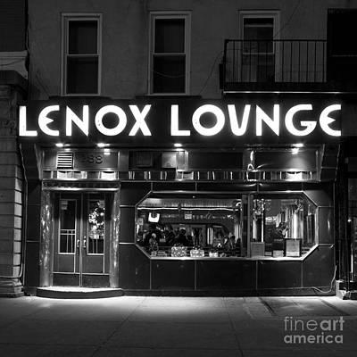 Lenox Lounge_176 Art Print by Andria Patino