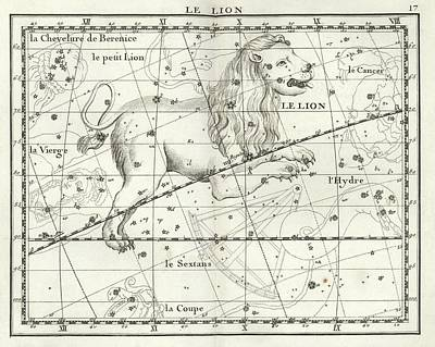 Leo Constellation Print by Us Navy