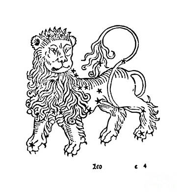 Photograph - Leo Constellation Zodiac Sign 1482 by Science Source