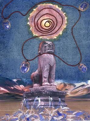 Leo Art Print by Maria Jesus Hernandez
