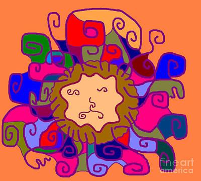 Leo1 Art Print by Meenal C