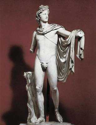 Leocares,  4th C. Bc. Apollo Belvedere Art Print by Everett