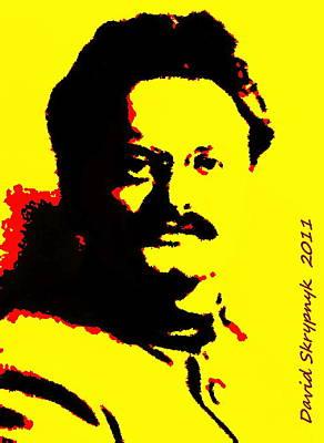 Digital Art - Leon Trotsky by David Skrypnyk