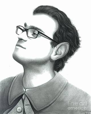 Leonard As Frodo Art Print by Crystal Rosene