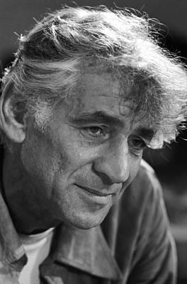 Leonard Bernstein Art Print