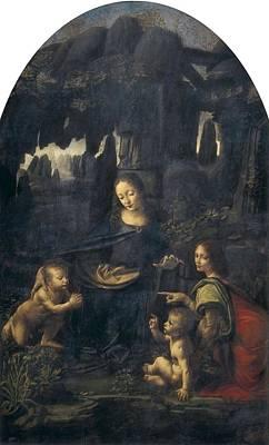 Leonardo Da Vinci 1452-1519. The Virgin Art Print by Everett