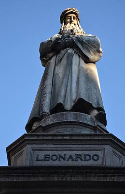Photograph - Leonardo Da Vinci by Dany Lison