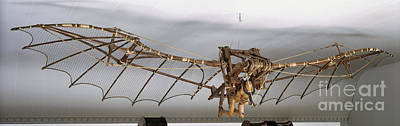 Leonardo Da Vincis Ornithopter Art Print
