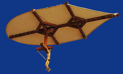 Photograph - Leonardo's Hang Glider by C H Apperson