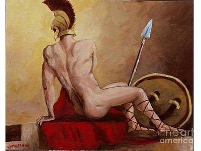 Leonidas Rest Art Print