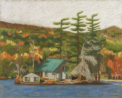 Painting - Leontine Island by Chrissey Dittus