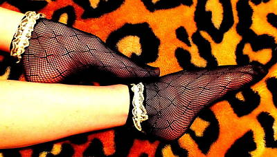 Photograph - Leopard And Lace 2 by Guy Pettingell