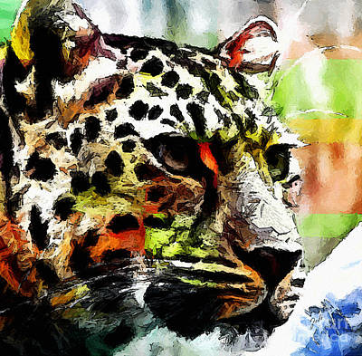 Leopard - Leopardo Art Print by Zedi