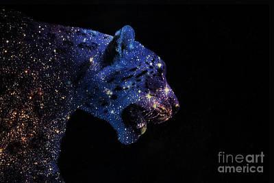 Leopard Nebula Art Print