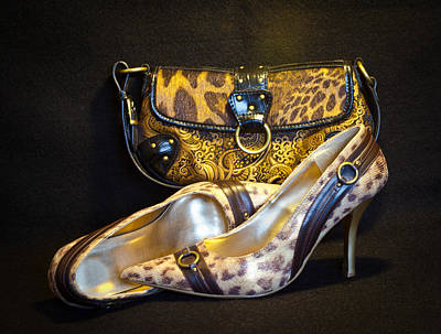 Photograph - Leopard Purse And Pumps by Patti Deters