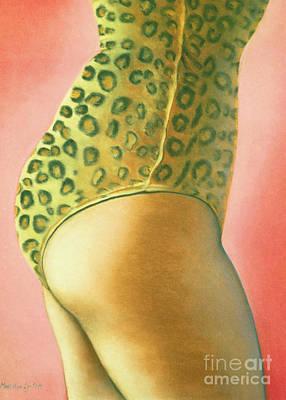 Leopard Suit Art Print