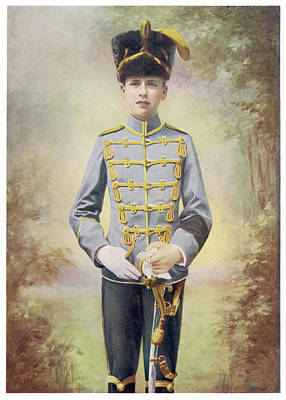 Saxe Photograph - Leopold Carl Edward Georg Albrecht Von by Mary Evans Picture Library